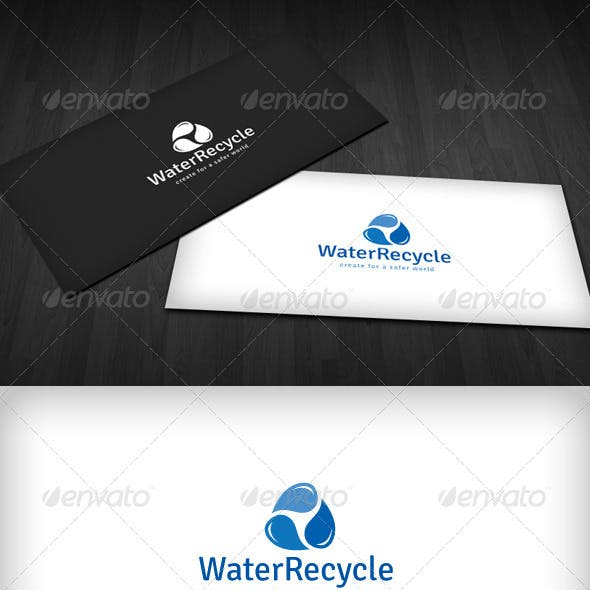 Water Recycle Logo