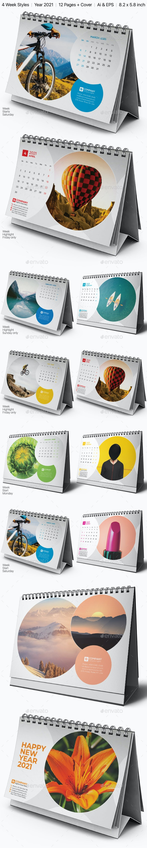 Bundle Calendar 21 - Calendars Stationery