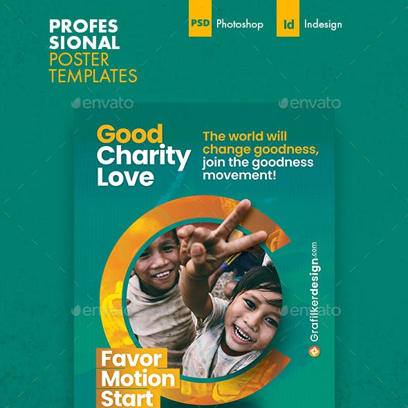 Charity Poster Templates