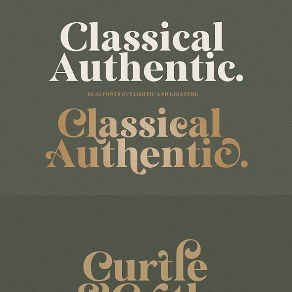 Classical Authentic Font