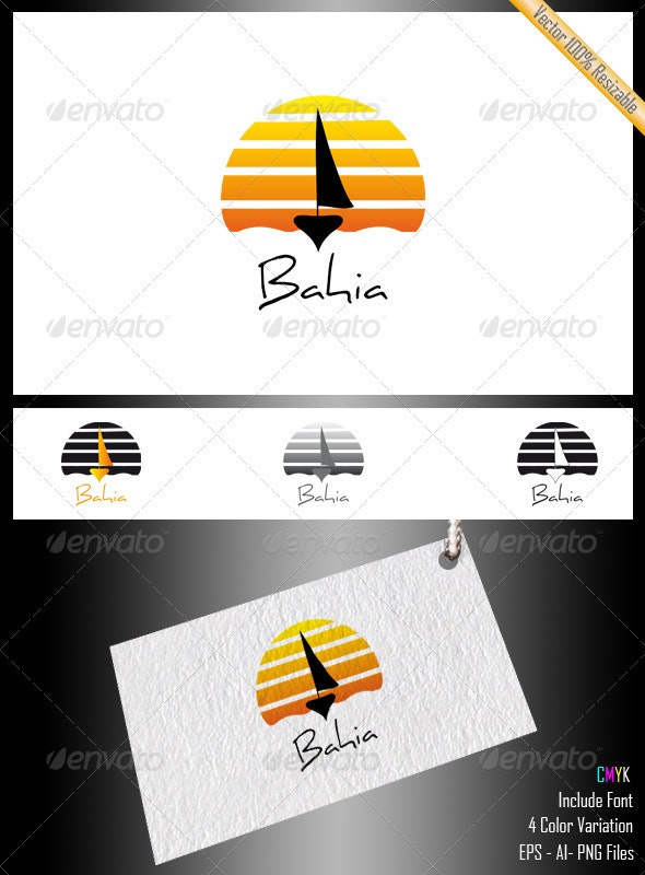 Bahia Logo - Objects Logo Templates
