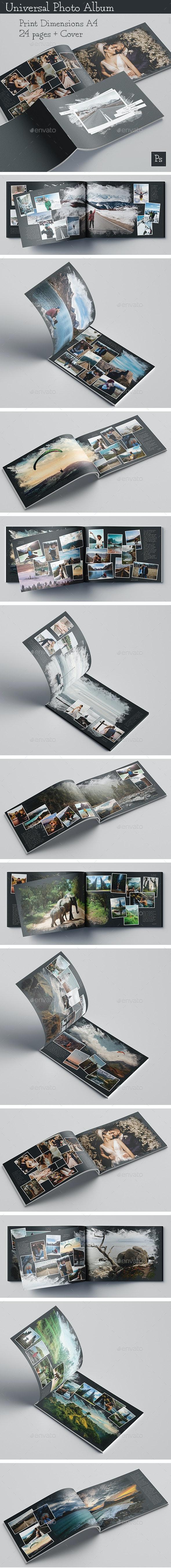Universal Photo Album - Photo Albums Print Templates