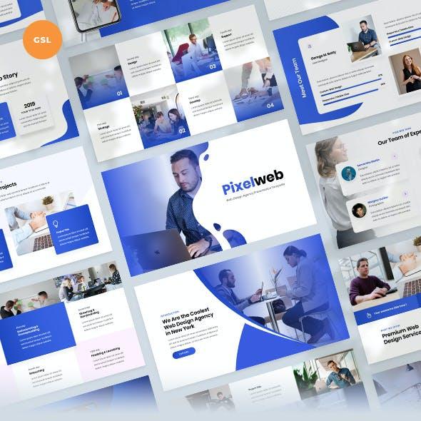 Web Design Agency Presentation Slides Template