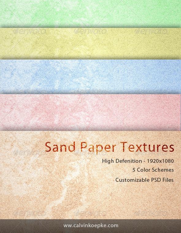 Sand Paper Textures - Paper Textures