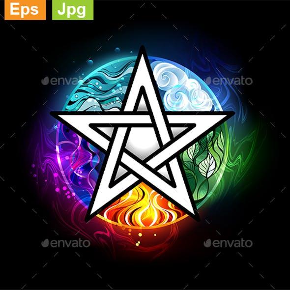 Glowing Pentagram