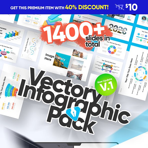 Vectory Infographic Asset Pack PowerPoint Presentation Template