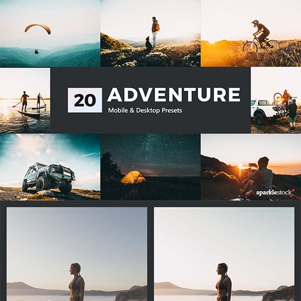 20 Adventure Lightroom Presets and LUTs