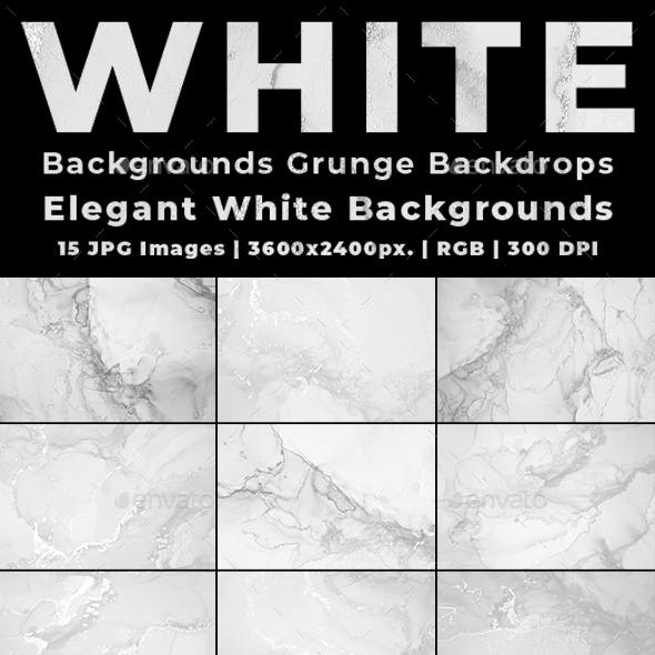 White Backgrounds Grunge Backdrops