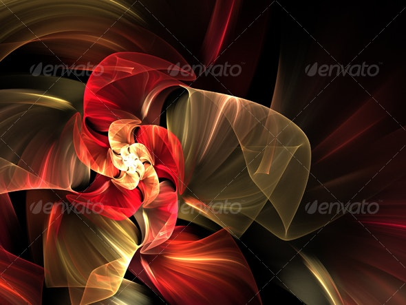 abstract futuristic illustration - Abstract Backgrounds
