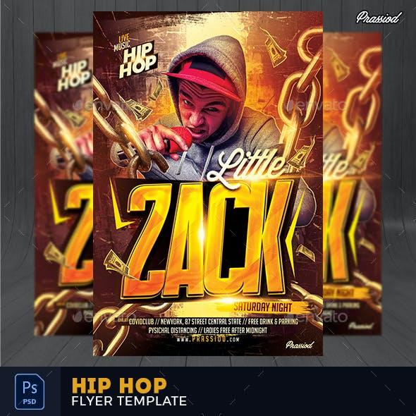Hip Hop Flyer Template