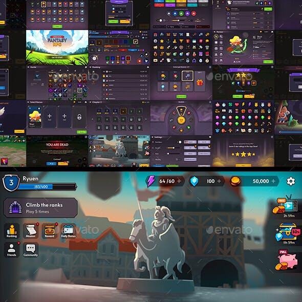 GUI PRO Kit Fantasy RPG
