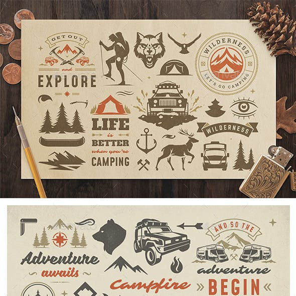 Camping & Outdoor Design Elements