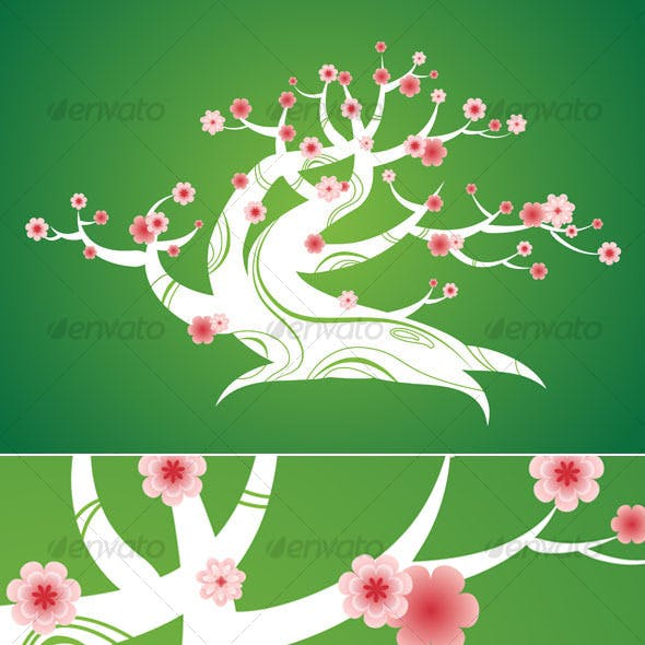 Spring bonsai