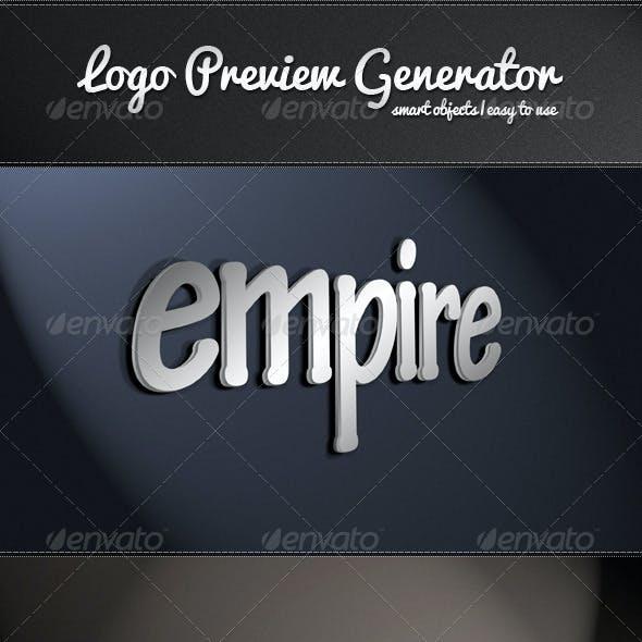 Logo Preview Generator Volume 1