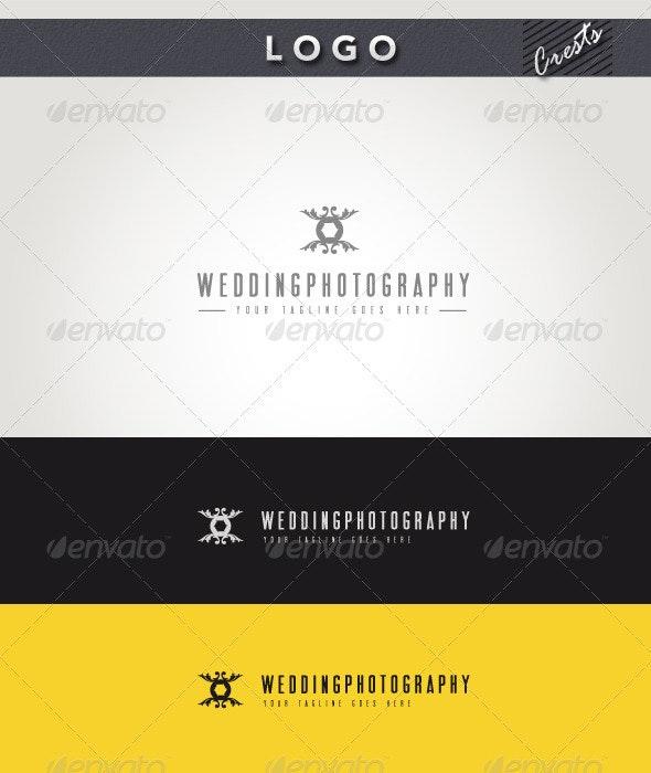 Wedding Photography Logo - Crests Logo Templates