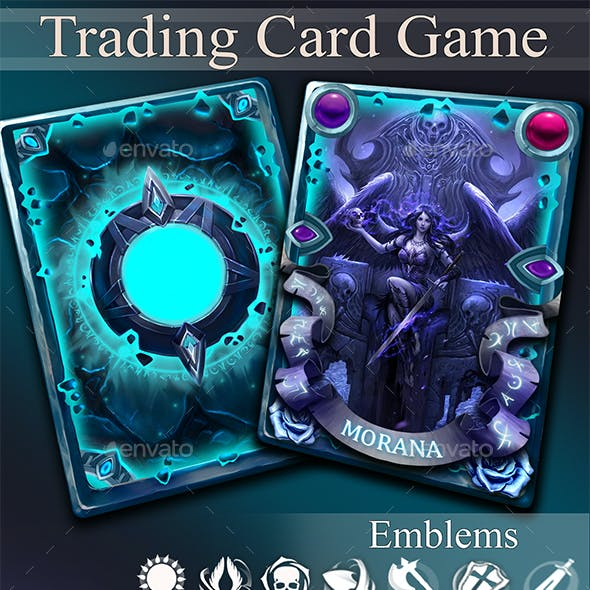 TCG Card Template Vol.3
