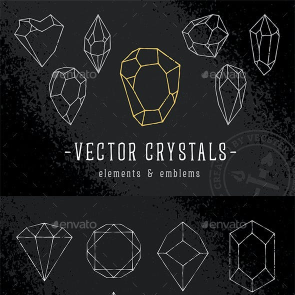 Vector Crystals - Elements & Emblems