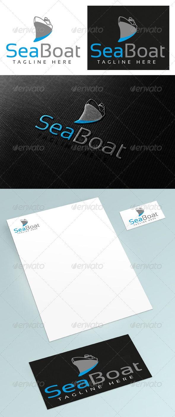 SeaBoat - Objects Logo Templates