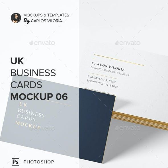 UK Business Cards Mockup 06