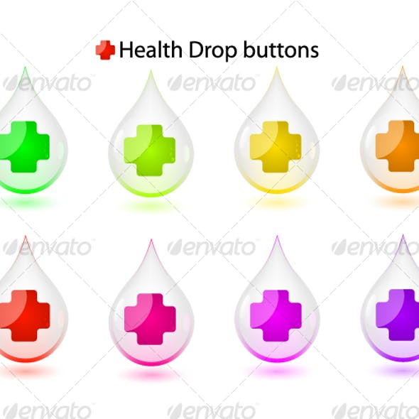 Health drop buttons...