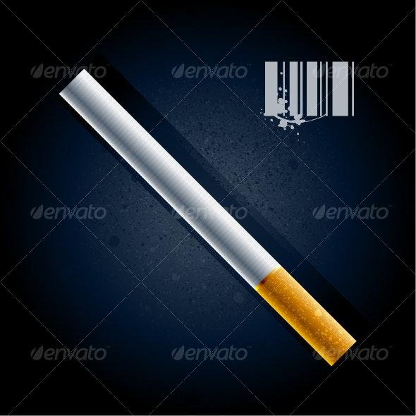 Cigarette - Objects Vectors