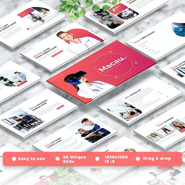 Macau - Medic Googleslide Template