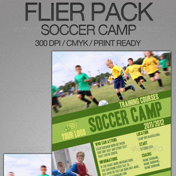 Soccer Camp Flier Bundle