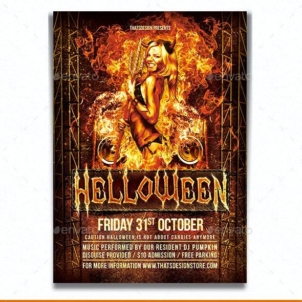 Halloween Flyer Template V3