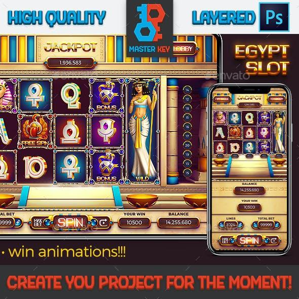 Golden Pyramid Egypt Slot Game