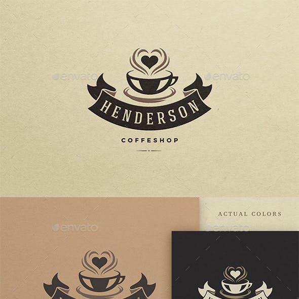 Coffee House Logo Design Template