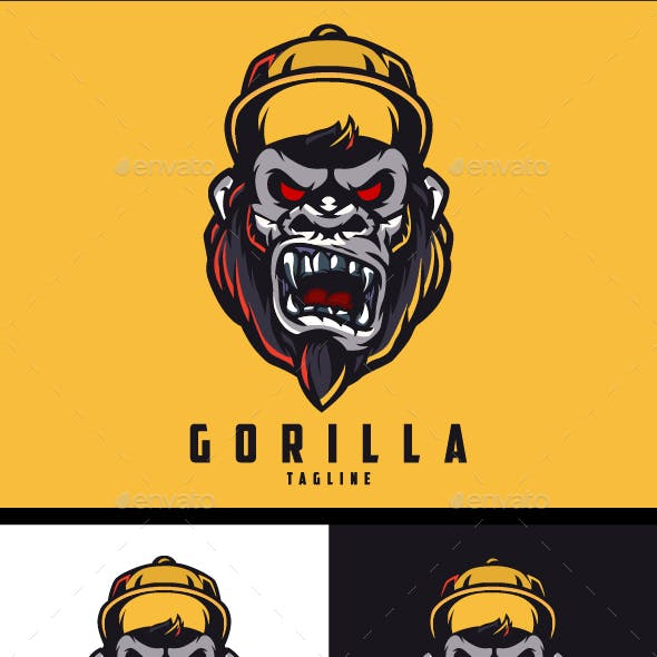 Mad Gorilla Logo Template