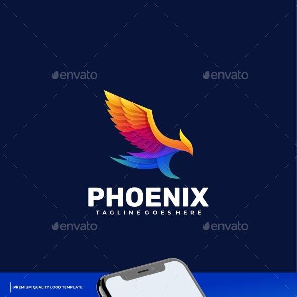 Phoenix Gradient Colorful Logo Template