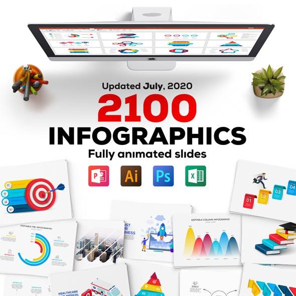 Multipurpose Infographics PowerPoint Templates v.4.6