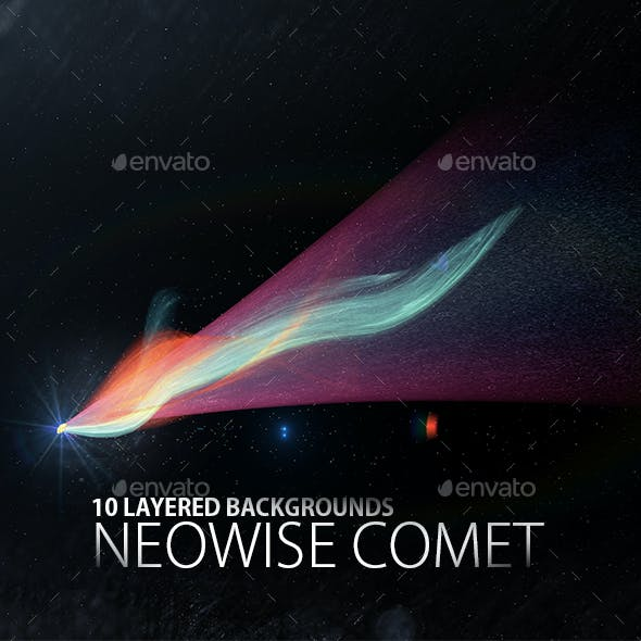 Neowise Comet Background Set