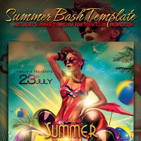 Summer Bash  Flyer Template