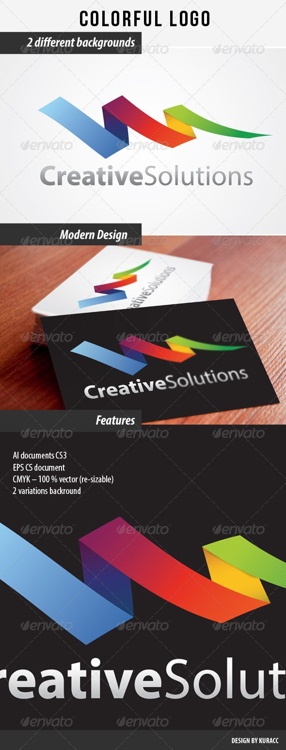 Colorful Logo - Abstract Logo Templates