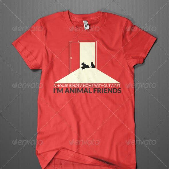 PETS FRIEND T-SHIRT