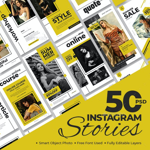 50 Instagram Stories Banners