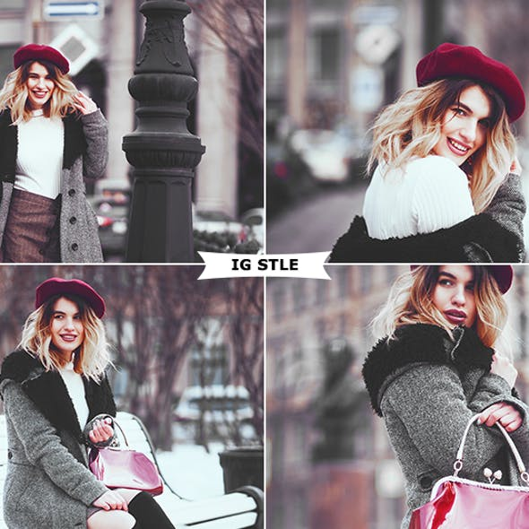 Instagram Style Photoshop Actions