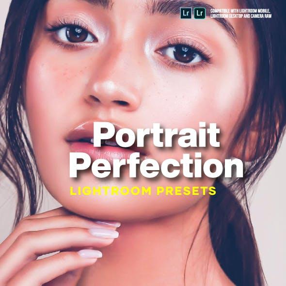Portrait Perfection Lightroom Presets for Desktop and Mobile