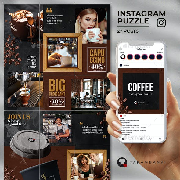 Coffee - Instagram Puzzle Feed