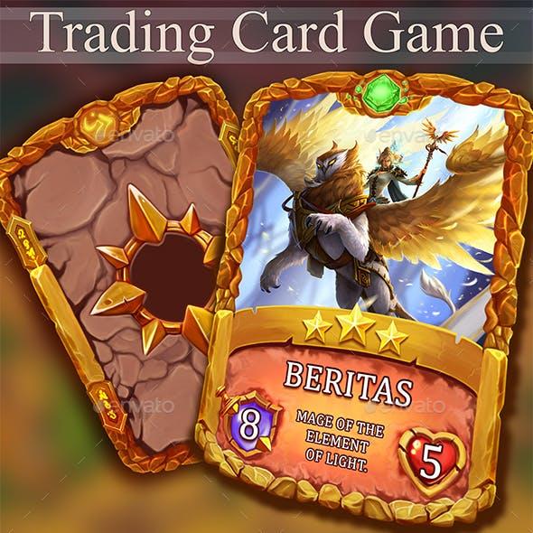 TCG Card Template Vol.4