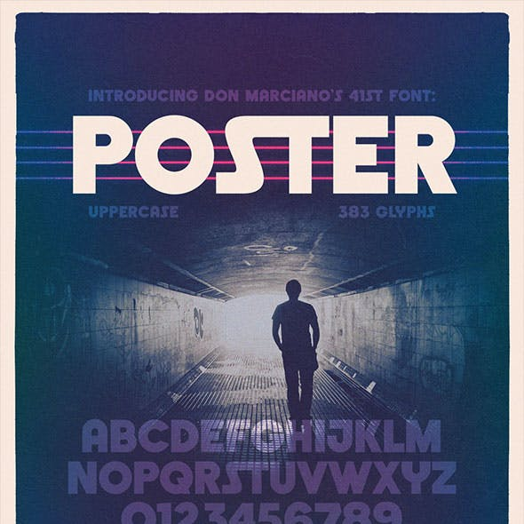 Poster Bold Display Font