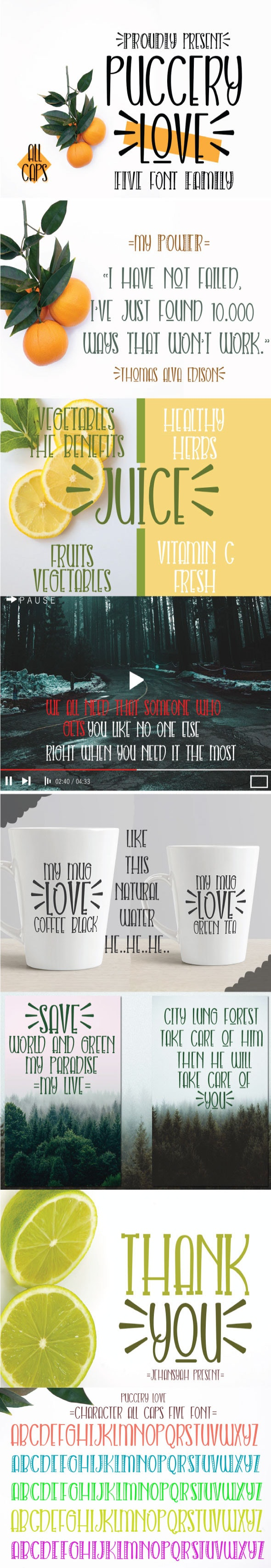 Puccery love - Handwriting Fonts