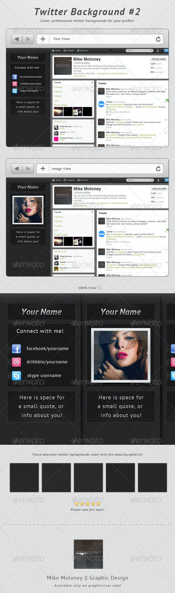 Twitter Background #2 - Twitter Social Media