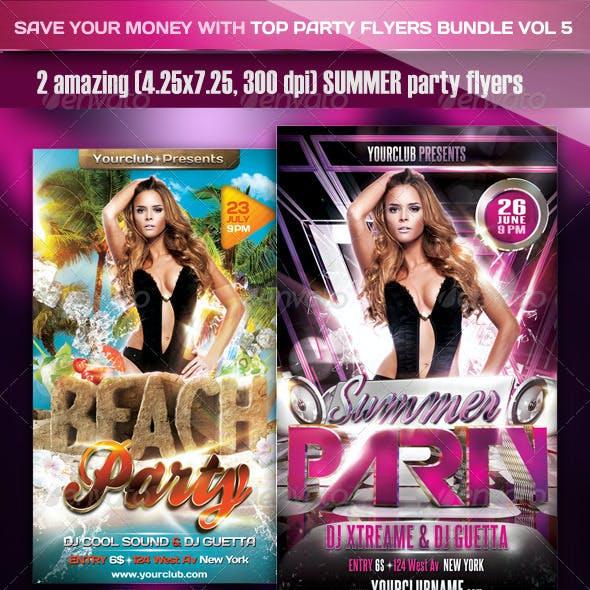 Top Party Flyer Bundle Vol5