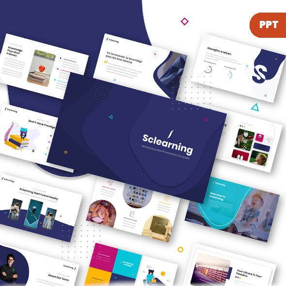 Sclearning – Education Presentation Template