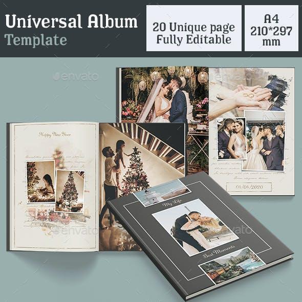 Universal Album Template