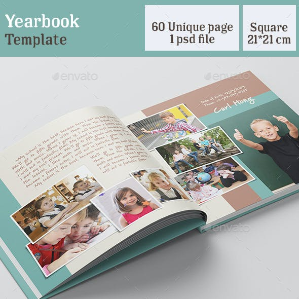 Universal Yearbook Template