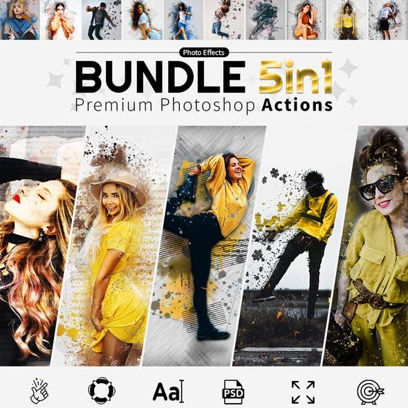 Actions Bundle 5in1